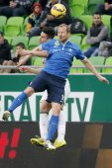 Ferencvaros vs. MTK OTP Bank League football match — Stock Photo