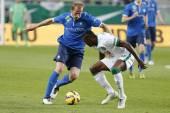Ferencvaros vs. MTK OTP Bank League football match — Stock fotografie