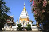 Chedi of Wat Ming Mueang at Chiang Rai, Thailand — Stock Photo