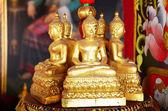 Buda, Wat Ming Mueang Chiangrai, Tayland. — Stok fotoğraf