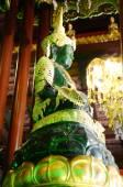 Wat Phra Kaew Temple in Chiang Rai, Thailand — Stock Photo