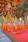 Ordination Ceremony of a Monk — Stock Photo