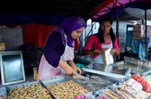 Birman insanlar Satılık aperatif myanmar stili — Stok fotoğraf
