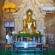 Buddha statue image at Htilominlo Temple — Stock Photo #77126143