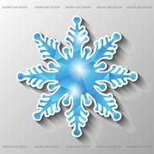Snowflake of polygons. — Stock vektor