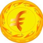 Постер, плакат: Euro coin