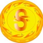 ������, ������: Hryvnia coin