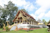 Wat Phra yuen : one of the famous place in Lamphun, Thailand. — Stock Photo