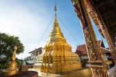 Beautiful ancient pagoda at Wat Mahawan — 图库照片