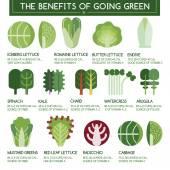 The benefits of going green — Cтоковый вектор