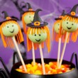 Witch cake pops. — Stock Photo #54985133