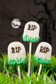 Tomb cake pops — Stock Photo