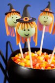 Witch cake pops — Stock Photo