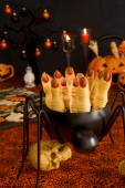 Witch finger cookies — Stock Photo