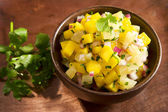 Mango pineapple salsa — Stock Photo