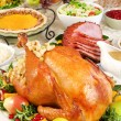 Thanksgiving dinner — Stock Photo #56508497
