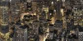 New York City night view — Stok fotoğraf