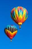 Hot air baloons — Stock Photo