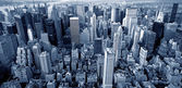 Manhattan top view — Stok fotoğraf