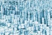 Basalt kolommen — Stockfoto
