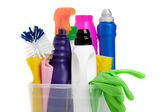 Household chemicals — Stock Photo