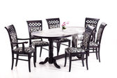 A table with chairs — Foto Stock