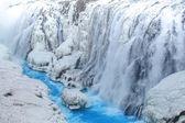 Frozen waterfall — Stock Photo