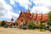 Temple Wat Chalong — Stock Photo