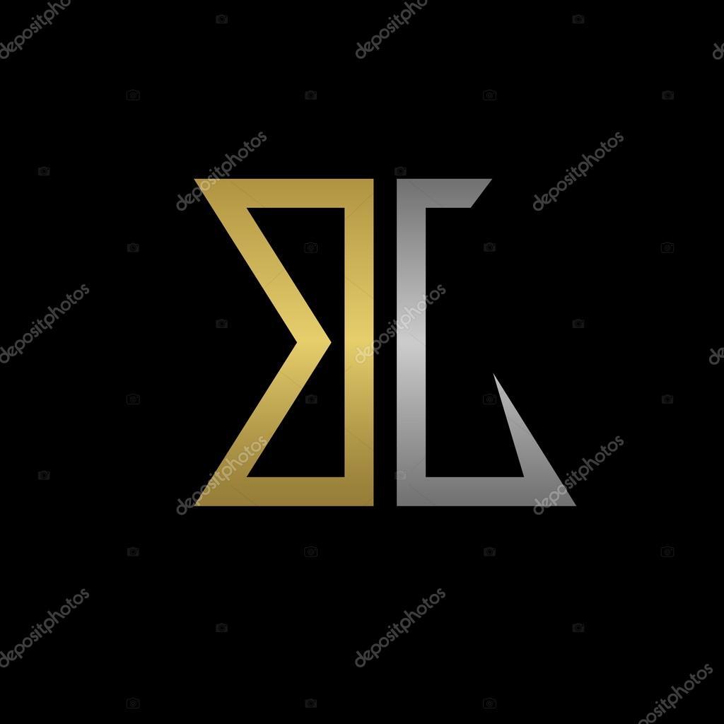 BG Letters Logo Stock Vector 101908294