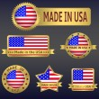 Made in USA — Stock Vector #56041619