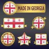 Made in Georgia — Stock Vector
