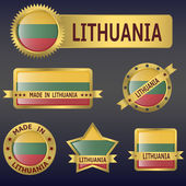 Lithuania — Stock Vector