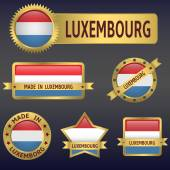 Luxembourg — Stock Vector