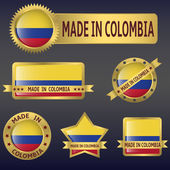Made in Colombia — Stock Vector