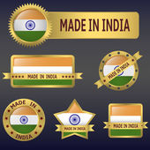 Made in INDIA — Stock Vector