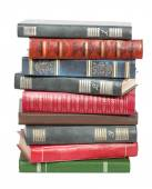 Old books in a pile — Stock Photo