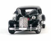 Black vintage retro car — Stock Photo