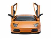Collectible toy model Lamborghini front view — Stock Photo