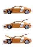 Set cars Audi R8 — Stock Photo