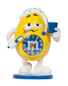 Toy Clock M & M's — Stock Photo
