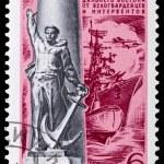 Monument to the liberators — Stock Photo #60509821