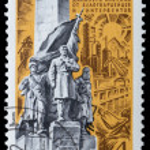 Monument to the liberators — Stock Photo #60509853