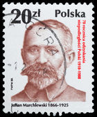 Polish and Soviet activist communist — Stock Photo