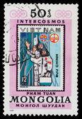Vietnam Cosmonauts — Stock Photo