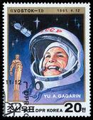 Russian cosmonauts — Stock Photo