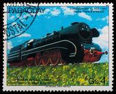 Stare lokomotywy — Zdjęcie stockowe