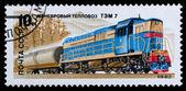 Russian Locomotive — Stock Photo