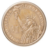 One US dollar coin — Stock Photo