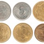 Tenge coin — Stock Photo #64513775