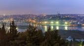 Vista de Istambul do mirante — Fotografia Stock